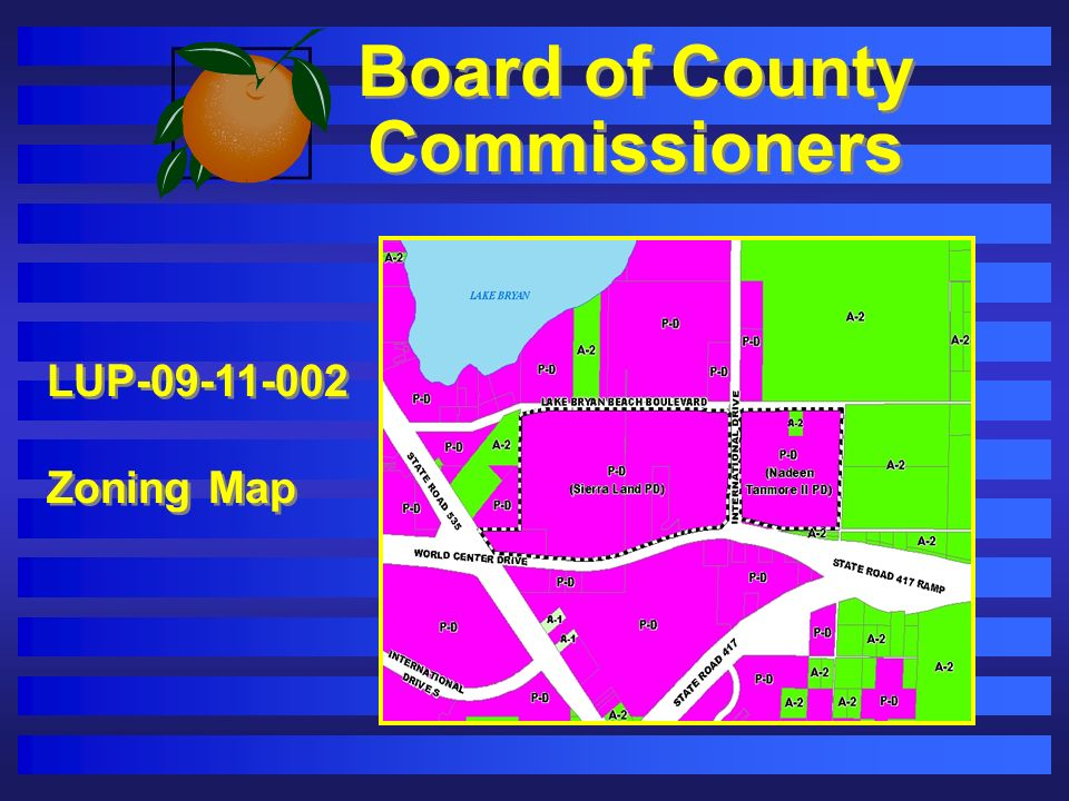 Board of County Commissioners LUP-09-11-002 Zoning Map LUP-09-11-002 Zoning Map