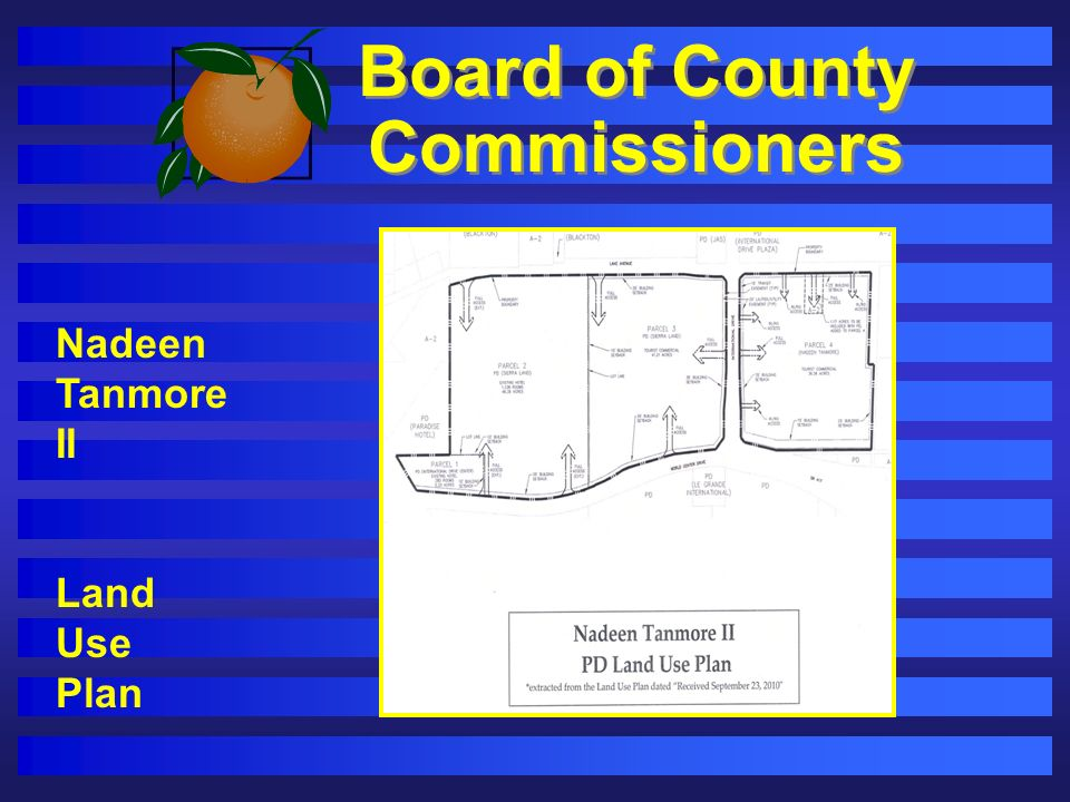 Board of County Commissioners Nadeen Tanmore II Land Use Plan
