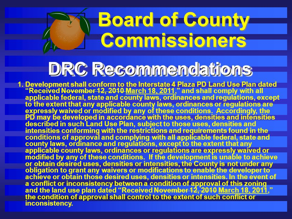 Board of County Commissioners 1.