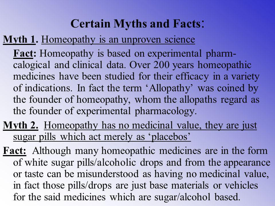 Survey Findings All over the world more and more people use Homeopathy occasionally. Lately an increasing number of people have heard about or read ab