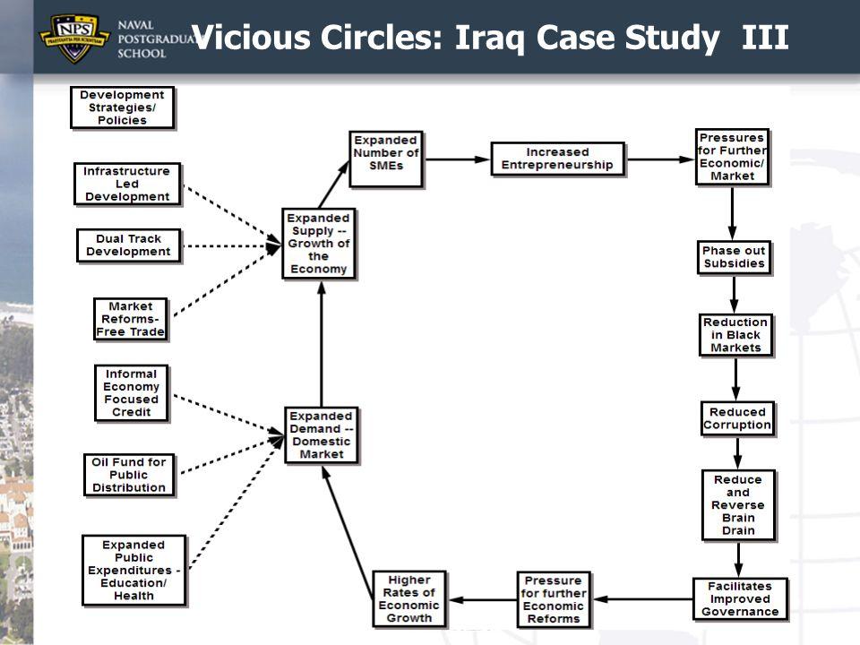 Vicious Circles: Iraq Case Study III