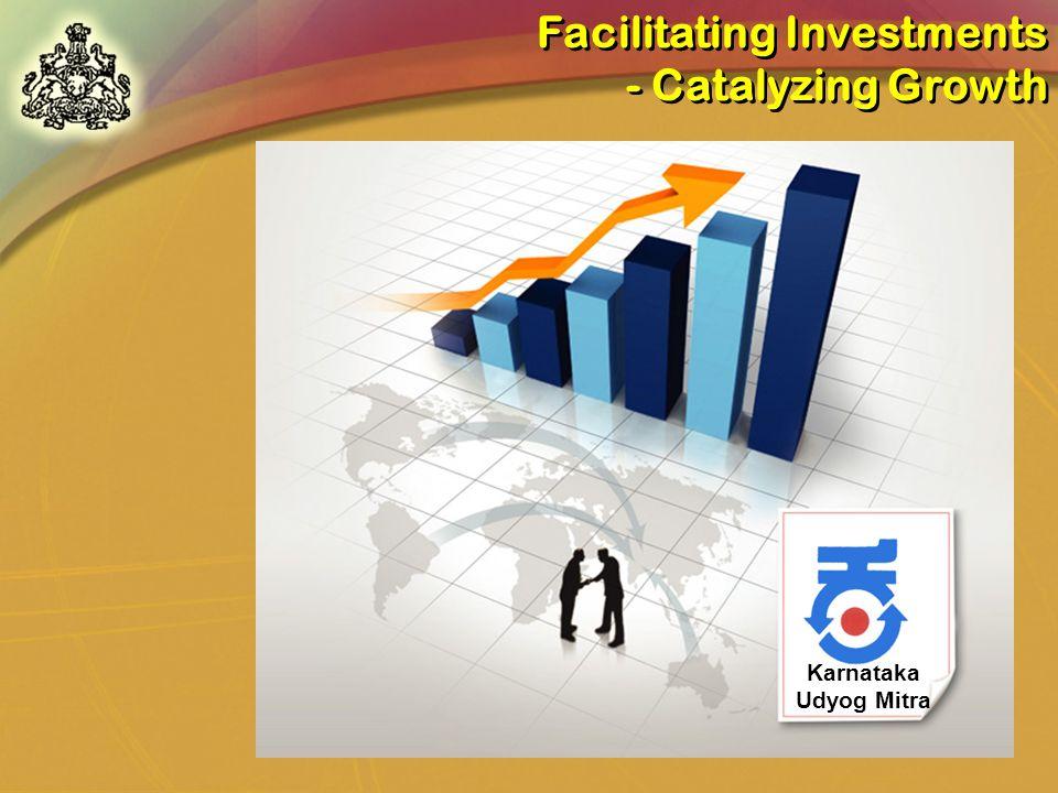 Karnataka Udyog Mitra Facilitating Investments - Catalyzing Growth Facilitating Investments - Catalyzing Growth
