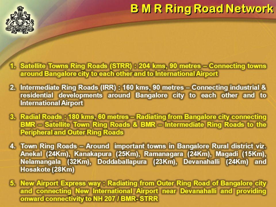 B M R Ring Road Network