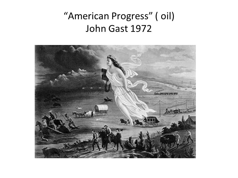 American Progress ( oil) John Gast 1972