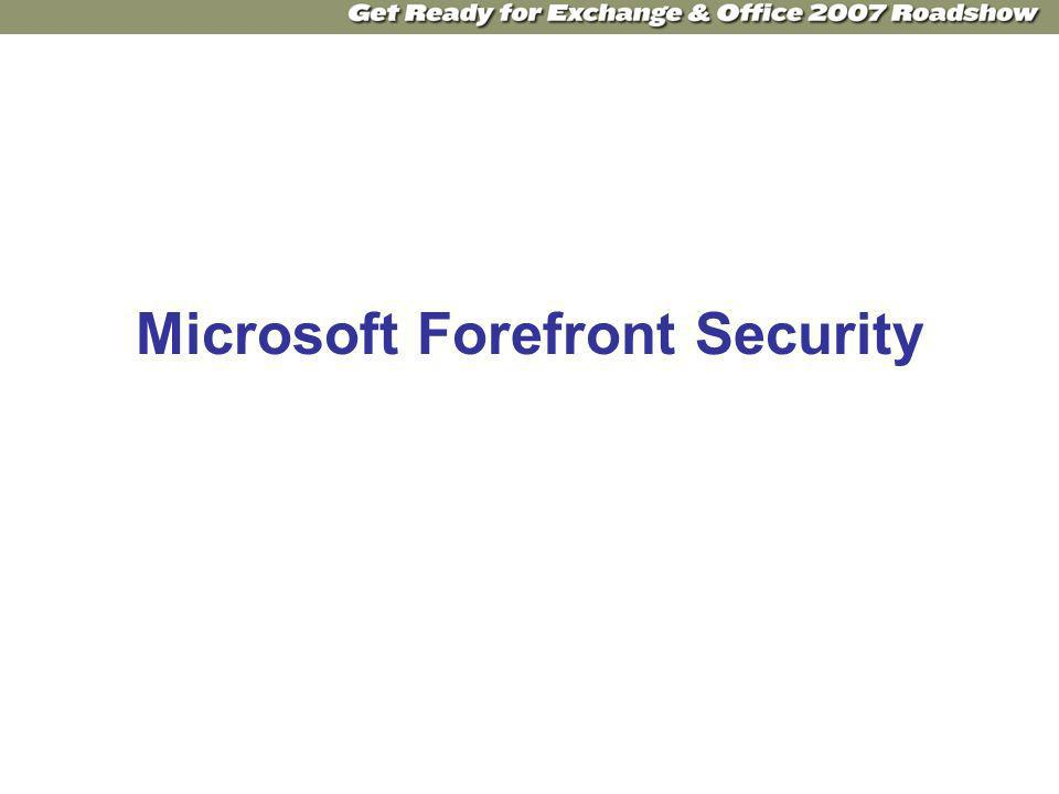 Microsoft Forefront Security