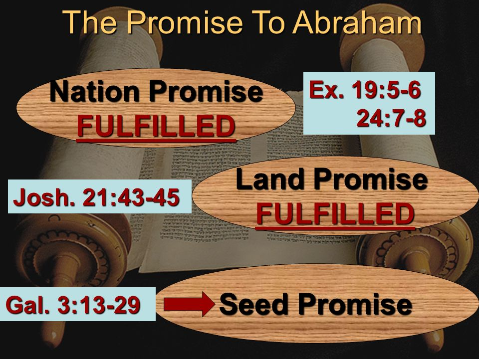 4 The Covenant God Made With Israel The covenant of God is identified asordinances, laws, commandments and words in the Scriptures.