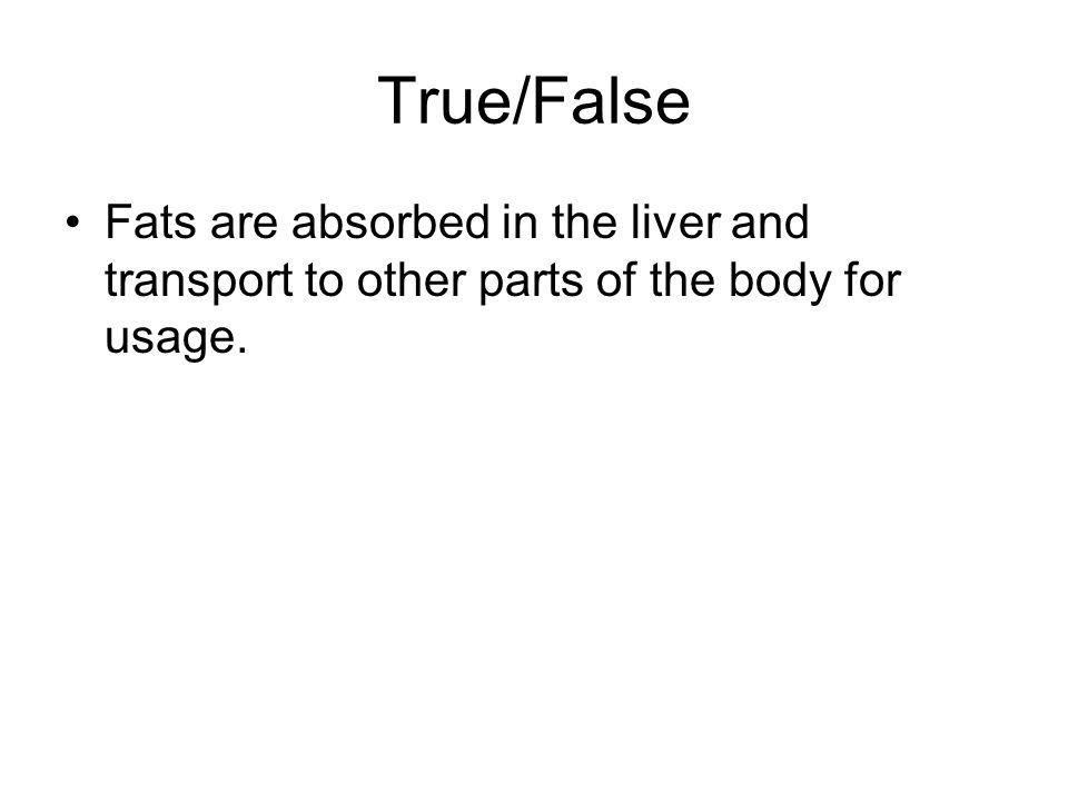 True/False Excess amino acids are deaminated