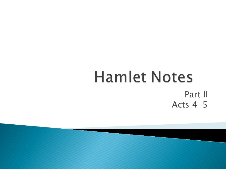 Part II Acts 4-5
