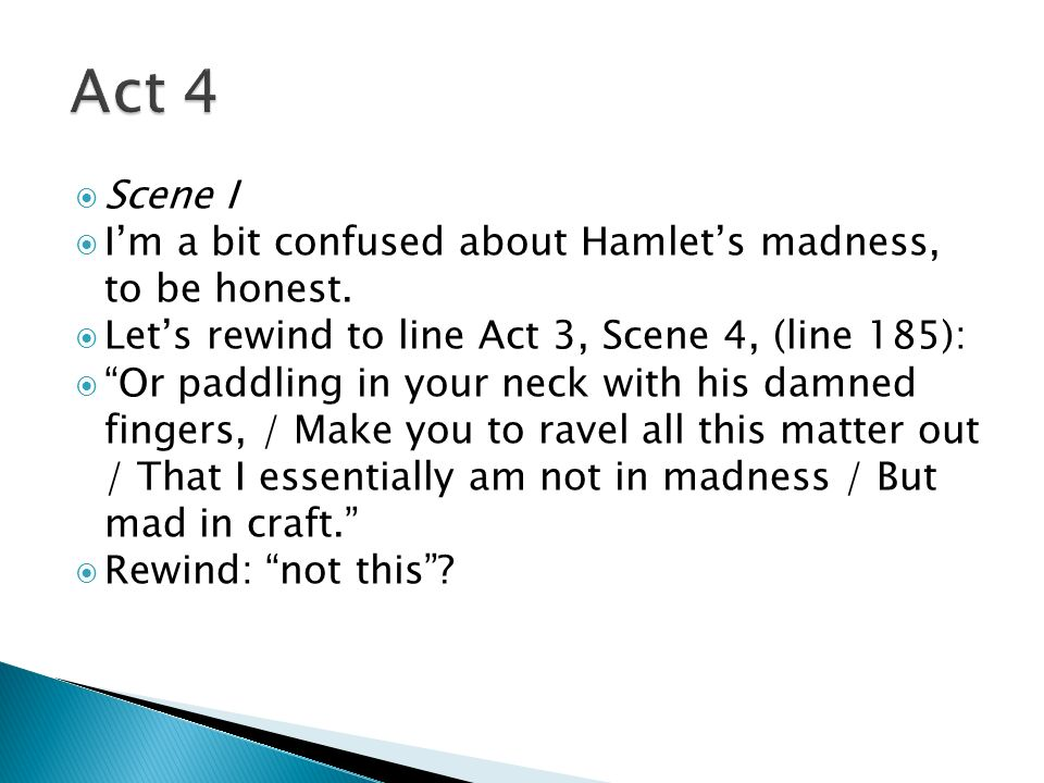thesis paper on hamlet