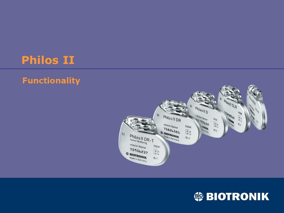 Philos II Functionality