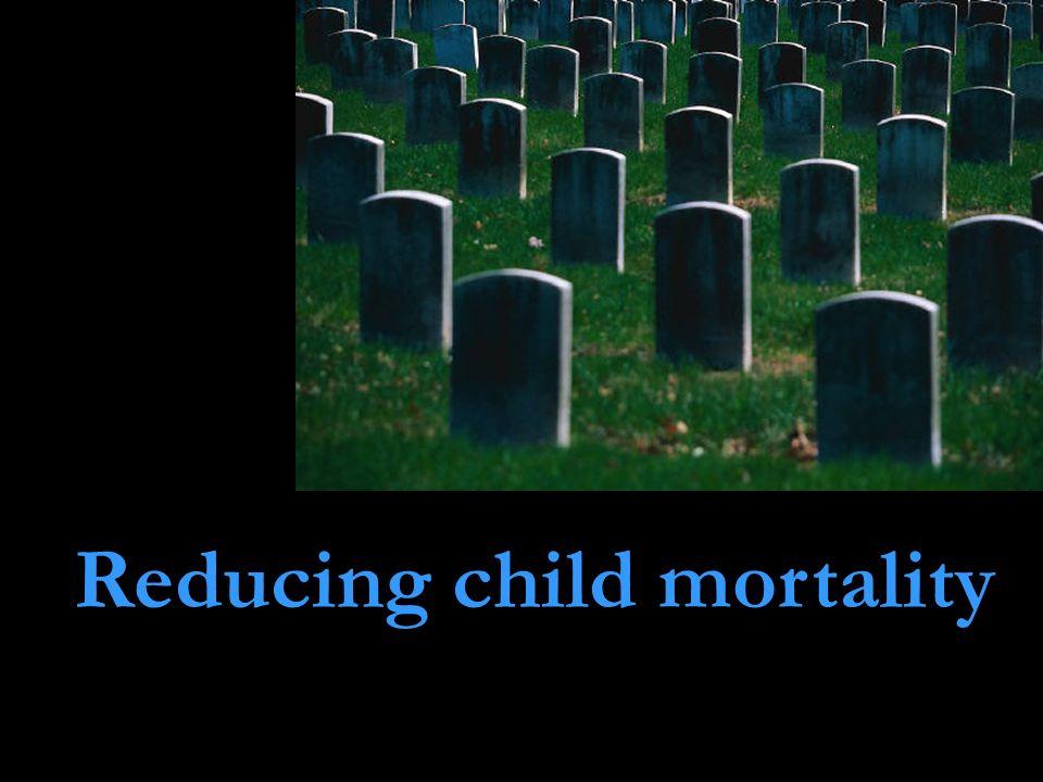Reducing child mortality
