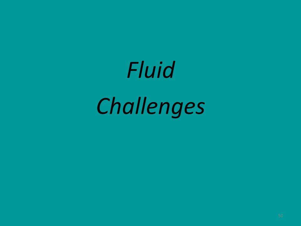 50 Fluid Challenges