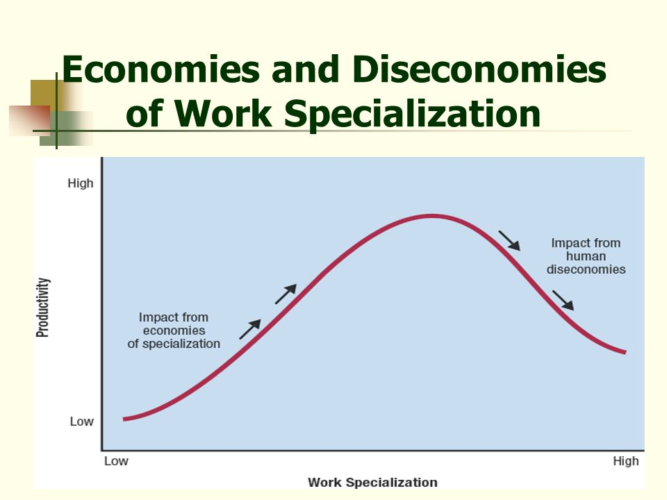 17 Economies and Diseconomies of Work Specialization