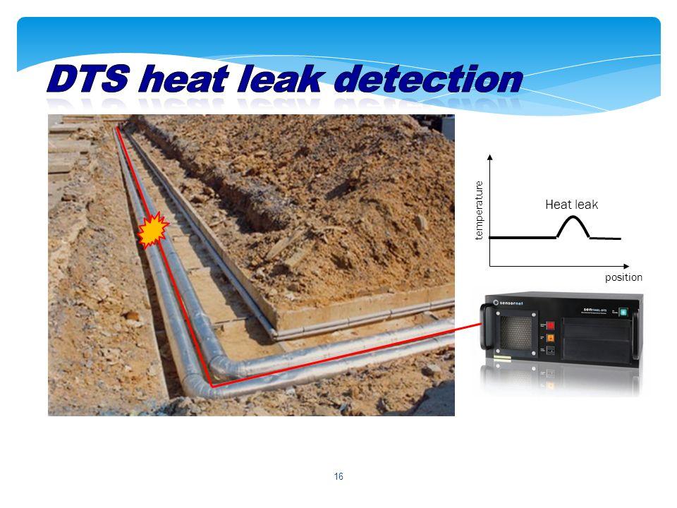 16 position temperature Heat leak