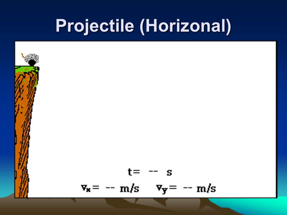 Projectile (Horizonal)