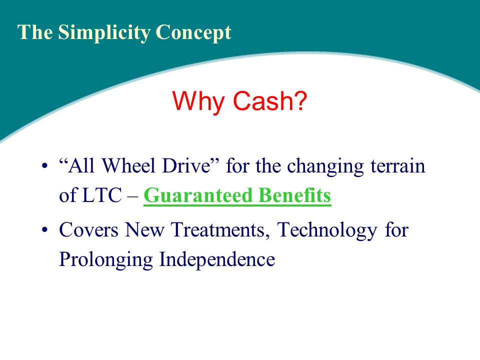 Twice as Simple to Sell Everybody Understands & Needs CASH.