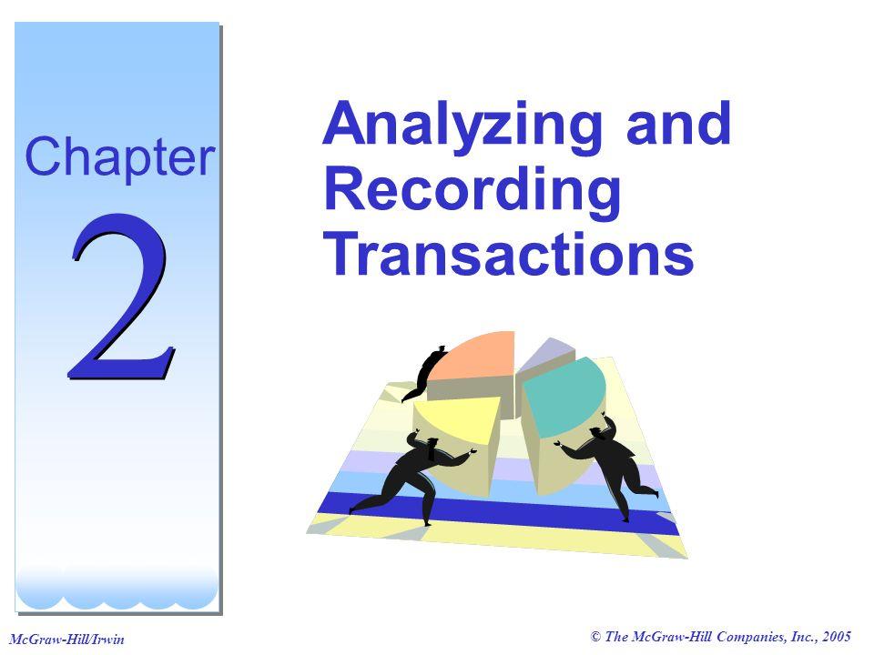 © The McGraw-Hill Companies, Inc., 2005 McGraw-Hill/Irwin 5 5 Compute the balance.