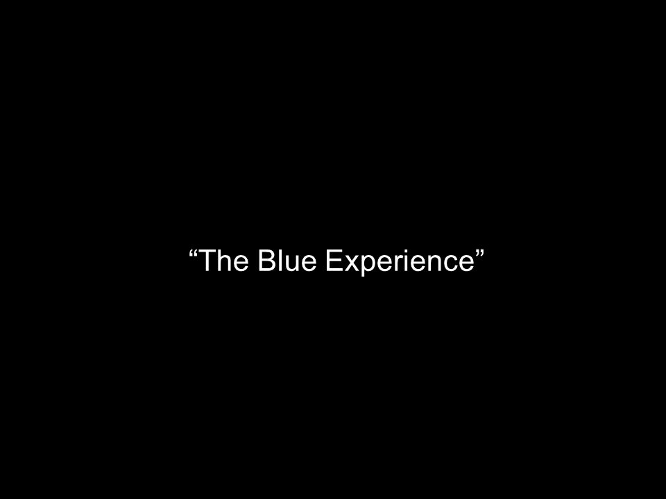 Mixing of Colors The Blue Experience
