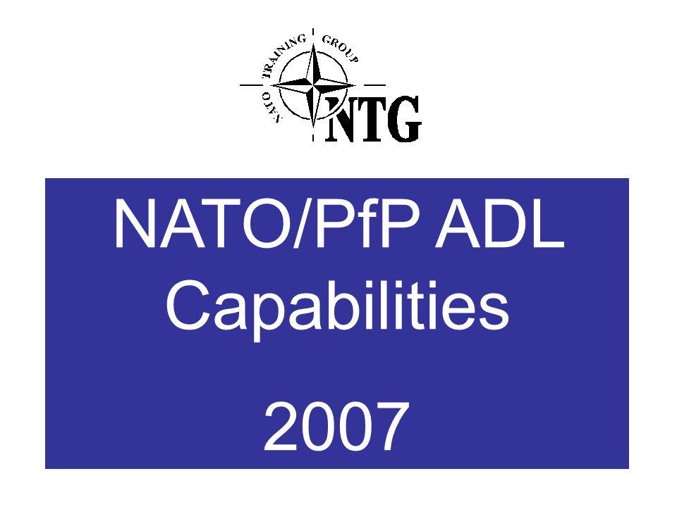 NATO/PfP ADL Capabilities 2007