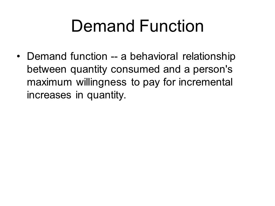 Law of Demand Law of demand states that when other things remaining the same, the amount of quantity demanded raises with every fall in price and vice versa