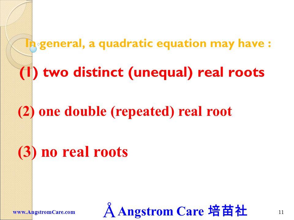 Angstrom Care 10www.AngstromCare.com a =b =c =110-7