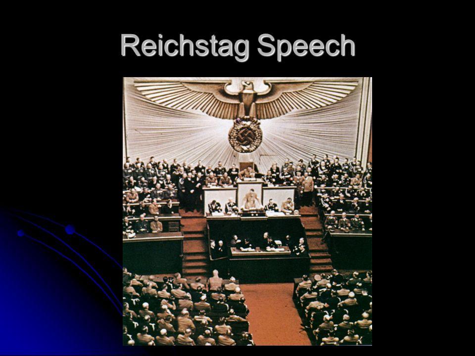 Reichstag Speech
