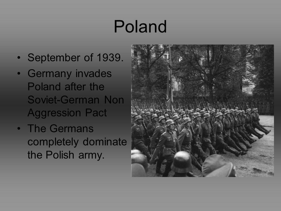 Poland September of 1939.