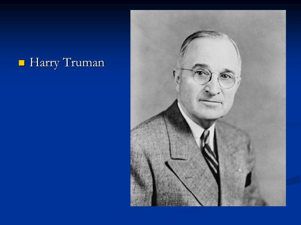 Harry Truman Harry Truman