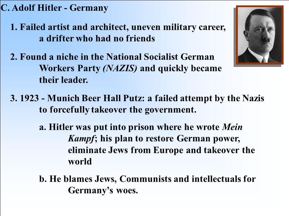 C. Adolf Hitler - Germany