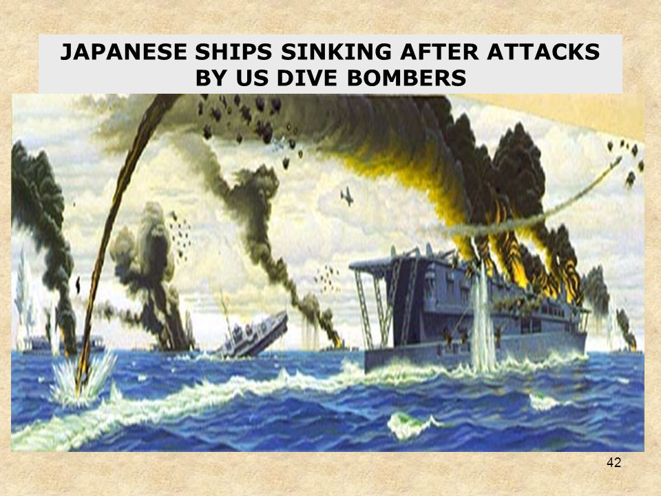 41 US CARRIER DIVE BOMBERS PREPARE TO STRIKE JAPANESE CARRIERS AT MIDWAY