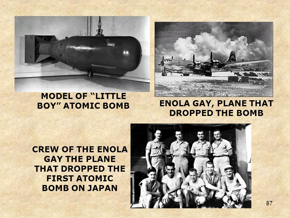 86 Atomic Power Since 1942, the United States had been conducting experiments on splitting the atom, thus creating a new source of tremendous power. T
