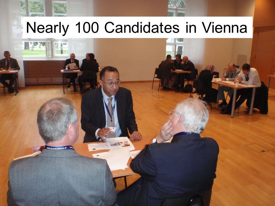2 Nearly 100 Candidates in Vienna