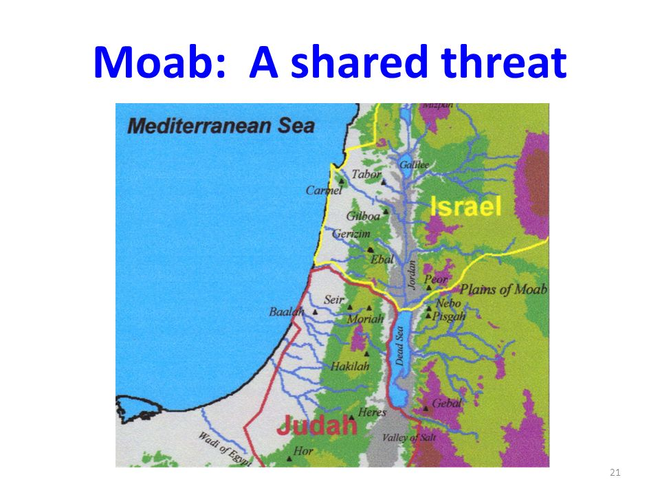 Moab: A shared threat 21