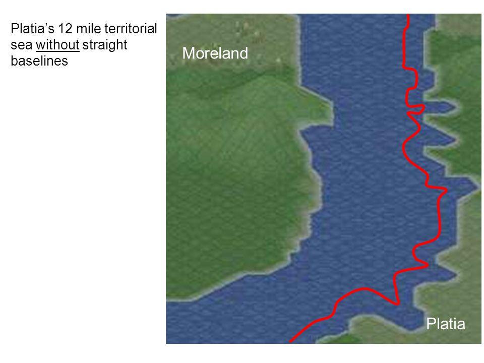 Platia Moreland Platias 12 mile territorial sea without straight baselines
