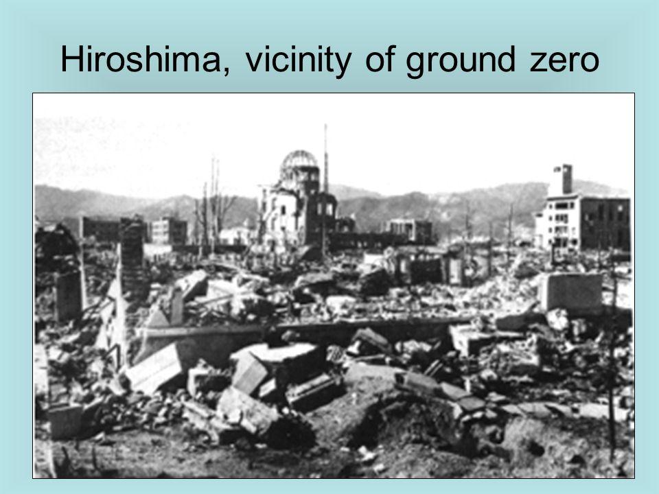 Hiroshima, vicinity of ground zero