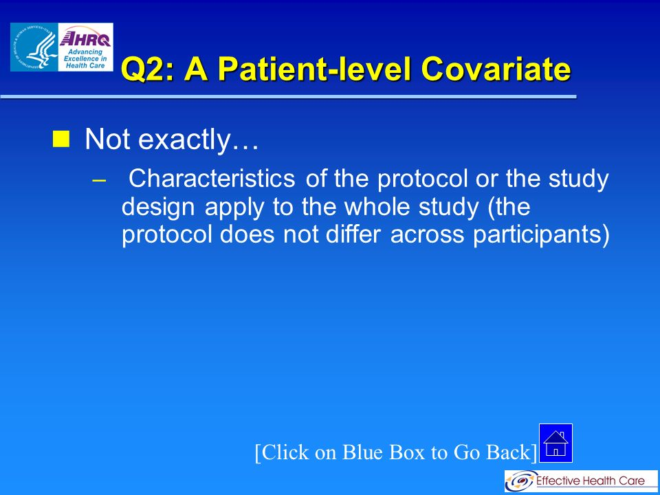 Q2: A Study-level Covariate Correct.