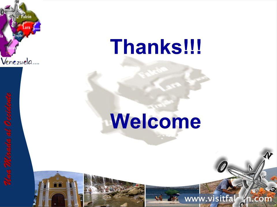 Una Mirada al Occidente Thanks!!! Welcome
