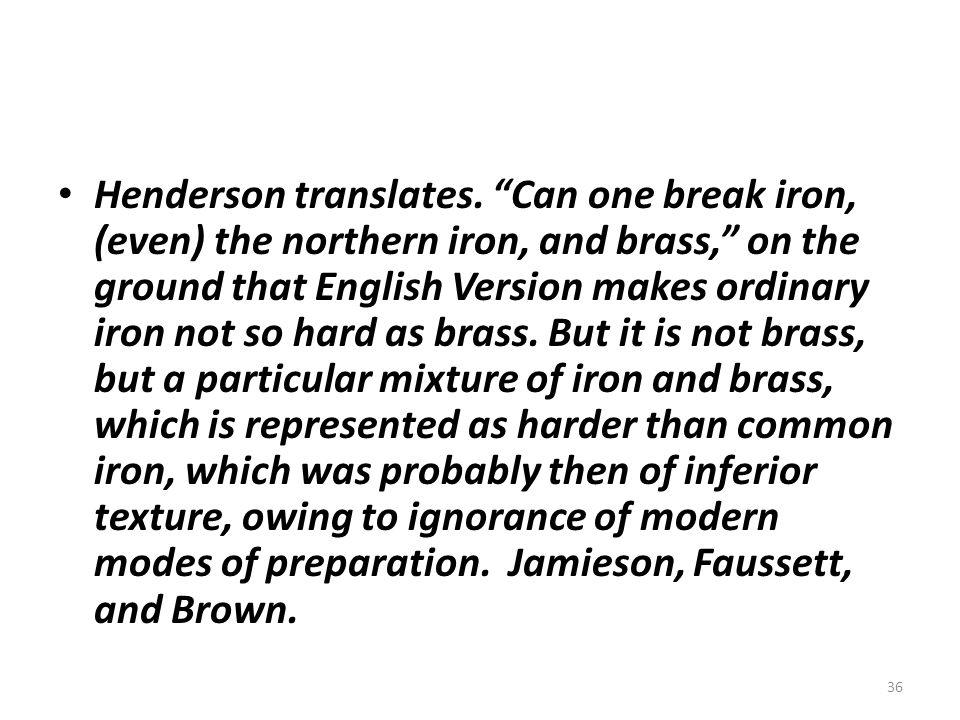 Henderson translates.