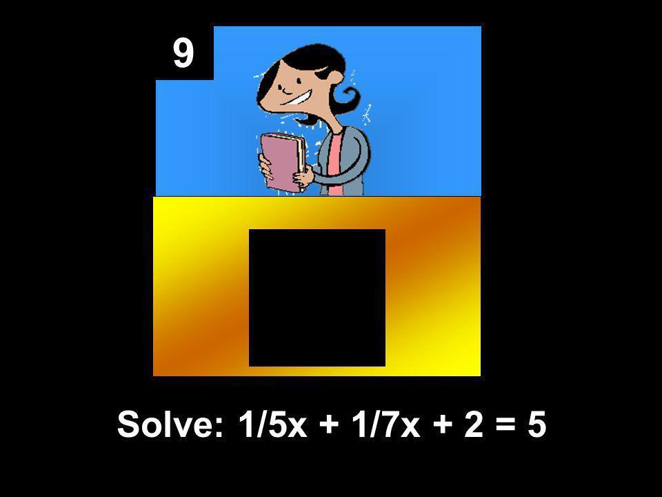 8 Y is multiplied y 2/3