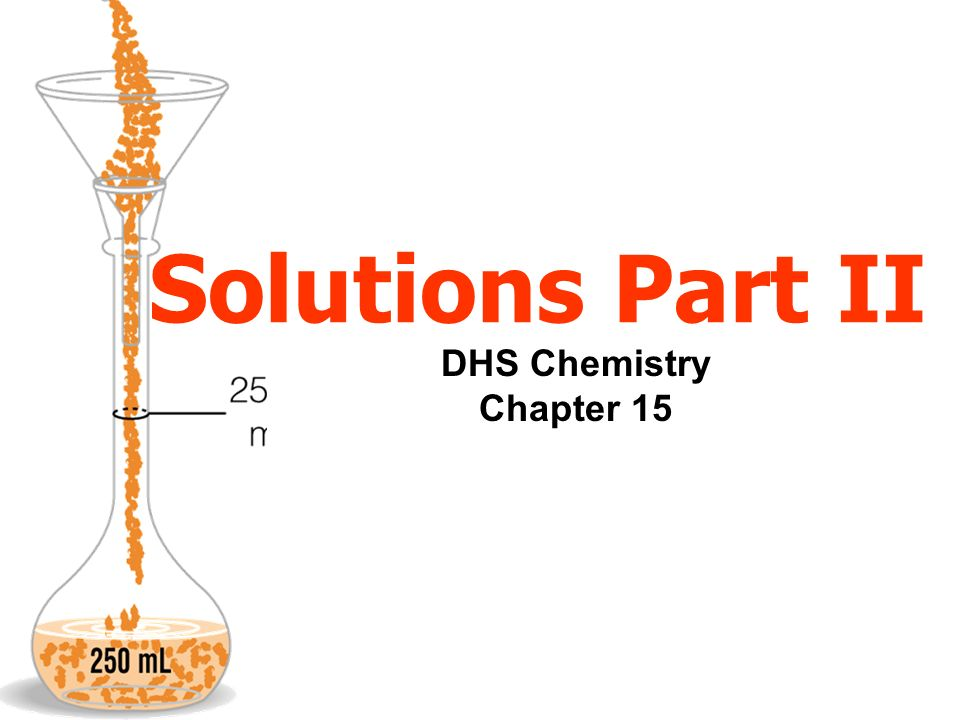 EX.A chemist starts with 50 mL of a 0.40M NaCl solution and dilutes it to 1000 mL.