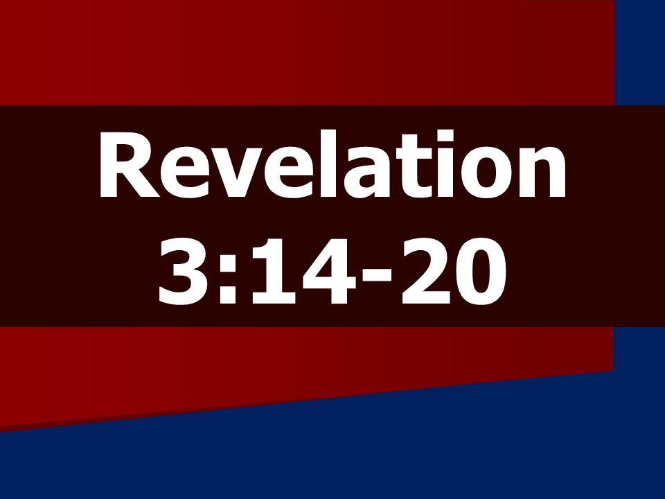 Revelation 3:14-20