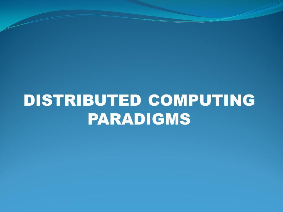 Choosing a Paradigm