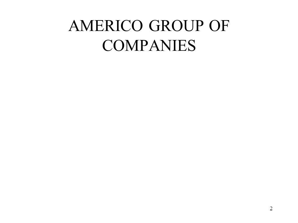 2 AMERICO GROUP OF COMPANIES
