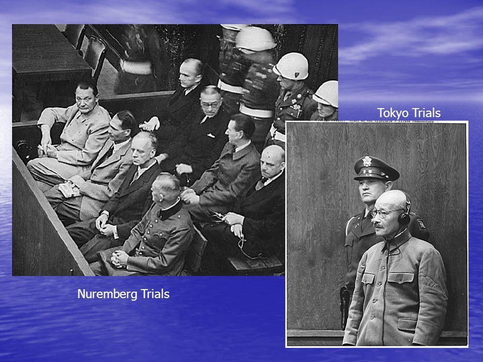 Nuremberg Trials Tokyo Trials
