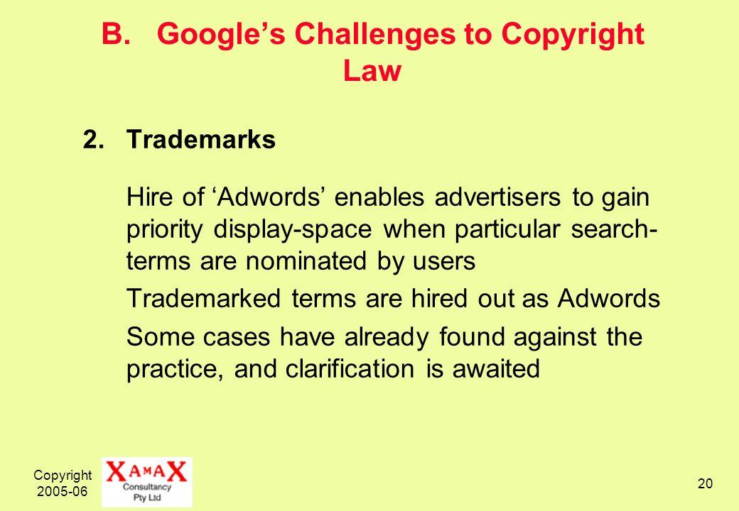Copyright 2005-06 20 B.
