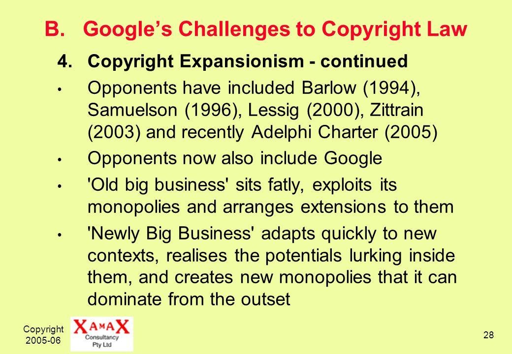 Copyright 2005-06 28 B.