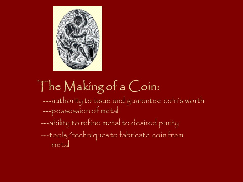 A Coin Makers Tools