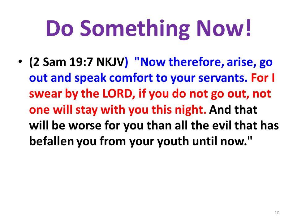 Do Something Now.