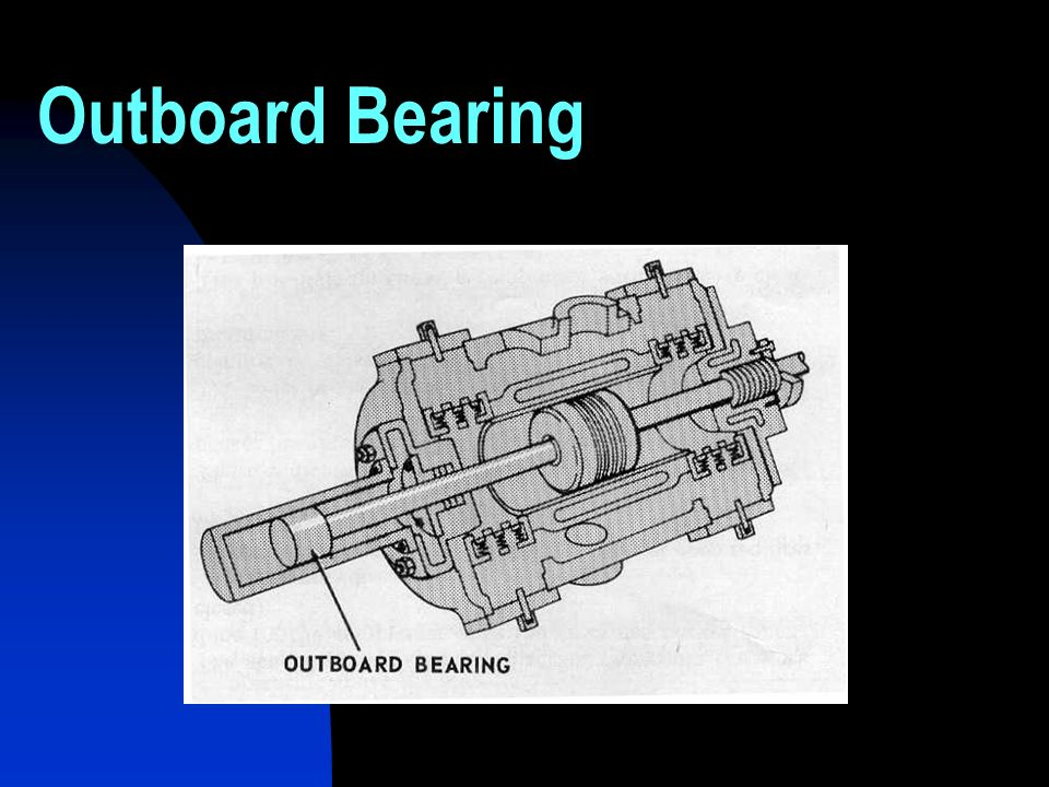 Outboard Bearing
