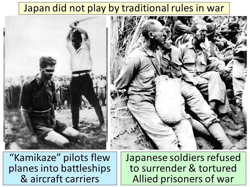 World War II was over